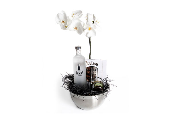 Vodka com orquidea