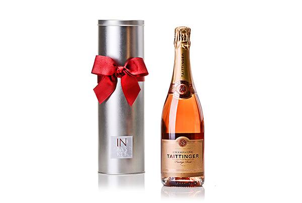 Champagne  Rosé Prestige – Taittinger – França