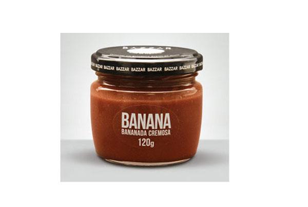 Bananada Cremosa – Bazzar – Brasil