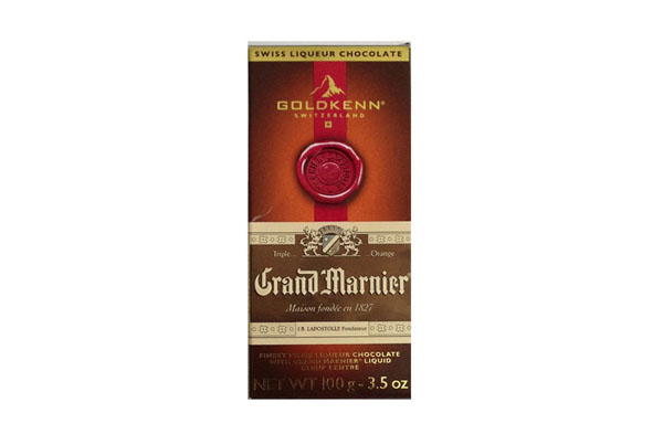 Chocolate com licor Grand Marnier – Goldkenn – Suiça