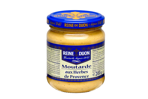 Moutarde aux Herbes de Province – Reine Dijon – França