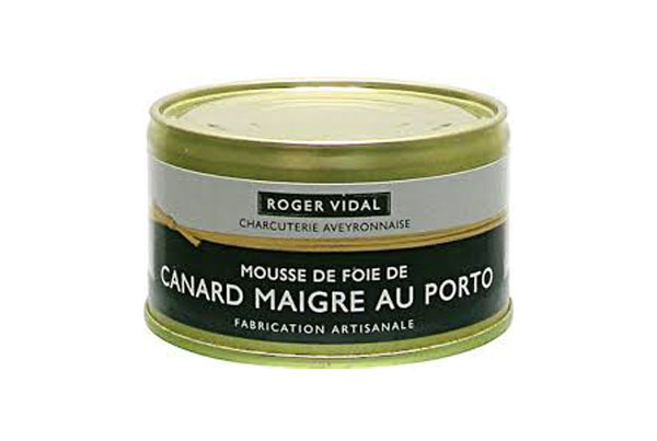 Mousse de Foie de Canard Maigre au Porto – Roger Vidal – França